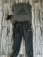 Used Adidas pants,shirt and mask for women in Dubai, UAE