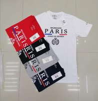 Used Paris Tshirt Promo 5pcs in Dubai, UAE