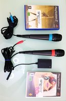 Used MIC WITH 2 PS2 GAMES in Dubai, UAE