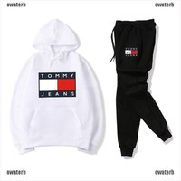 Used Tommy Hilfiger track suit size L in Dubai, UAE