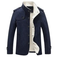 Used High quality new dark blue jacket size S in Dubai, UAE
