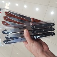 Used Set of 6 high quality knife kitchen in Dubai, UAE