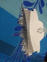 Used Necklace with tassels and diamond in Dubai, UAE