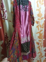 Used Long flair frock dopatta in Dubai, UAE