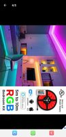 Used LED STRIP ONE WITH 5 METERS REMOTE in Dubai, UAE