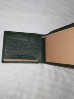 Used Antique green wallet // in Dubai, UAE