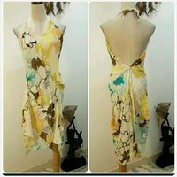 "Used New lady's backless Dress "" free size in Dubai, UAE"