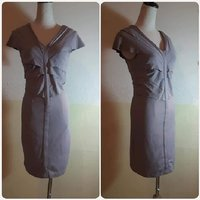 "Used Slimfit grey Short dress "" brand new. in Dubai, UAE"