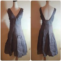 Used Made in Italy grey Dress- Brand new. in Dubai, UAE