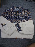 Used Long sleeve printed lapels shirt in Dubai, UAE