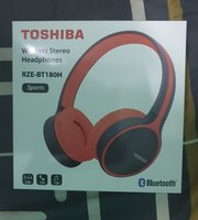 Used Wireless HeadPhones with Mic(RZE-BT180H) in Dubai, UAE