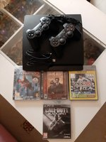Used PlayStation 3 with 4 cd in Dubai, UAE
