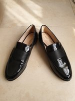 Used Mango Black Loafers with Strap Detail in Dubai, UAE