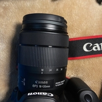 Used Canon 80d with 2lens in Dubai, UAE