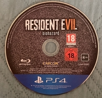 Used Ps4 resident evil VII biohazard -No case in Dubai, UAE
