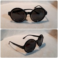 """Used Black round Sungglass for lady """" new in Dubai, UAE"""