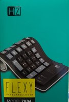Used FlexyFoldable keyboard selicon  material in Dubai, UAE