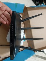 Used D-link wifi router with box in Dubai, UAE
