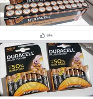 Used Duracell 8 batteries pack in Dubai, UAE