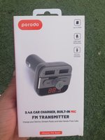 Used 3.4A Car Charger Fm transmitter Also in Dubai, UAE