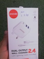 Used Porodo dual port 2.4A Charger in Dubai, UAE