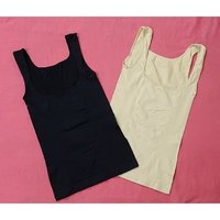 Used Women's open bust slimming tops 2 pcs ! in Dubai, UAE