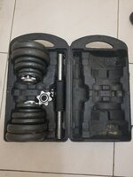 Used 20KG CAST IRON DUMBELL 2 SET in Dubai, UAE