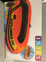 Used INTEX Explorer 300Boat set in Dubai, UAE