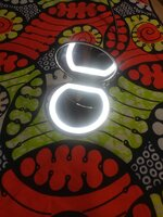 Used LED 3X Lighted Magnifying makeup mirror in Dubai, UAE