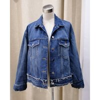 Used ZARA DENIM jacket with lining in Dubai, UAE