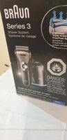 Used Braun shaver used only once in Dubai, UAE