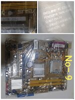 Used Asus motherboard and processor  ddr2 in Dubai, UAE