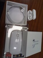 Used TUESDAY OFFER.Apple AirPods + Mouse in Dubai, UAE