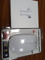 Used FRIDAY OFFER.Apple AirPods + Mouse in Dubai, UAE