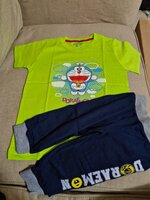 Used Boys tshirt and 3 pants different sizes in Dubai, UAE