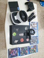 Used Ps4 pro with vr in Dubai, UAE