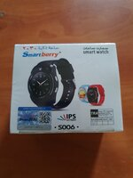 Used New smart watch black.., in Dubai, UAE