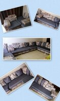 Used 9 seaters sofa set in Dubai, UAE