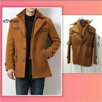 Used Casual men jacket light brown size M in Dubai, UAE