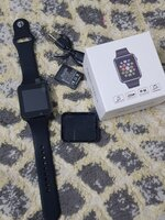 Used Full function A1 smart watch with sim ca in Dubai, UAE