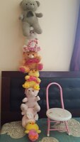 Used Hanging soft toys and chair in Dubai, UAE
