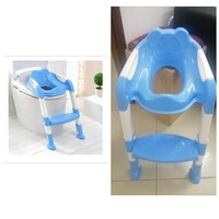 Used Children's Toilet Seat with Step Stool in Dubai, UAE