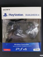 Used PS4 CONTROLLER JET BLACK NEW WITH BOX in Dubai, UAE
