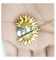 Used Sunflower lettering necklace in Dubai, UAE