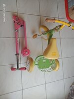 Used Kids tricycle and scooter 🎀 in Dubai, UAE