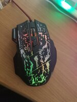 Used Gaming mouse rgb and not use still new in Dubai, UAE
