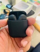 Used I 12 black > airpod in Dubai, UAE