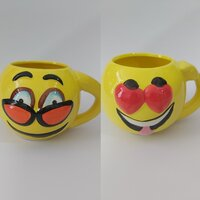 Used 2 emoji mugs in Dubai, UAE