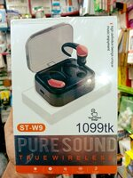 Used JBL EARBUDS ST_W9 high quality packed in Dubai, UAE