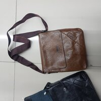 Used BLACK MASSENGER BAG FIXED PRICE in Dubai, UAE
